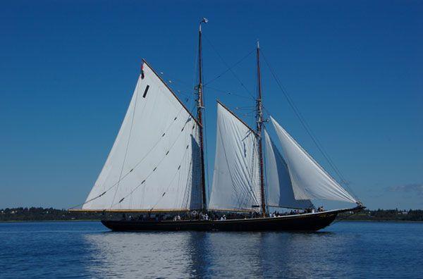 Nova Scotias famous Bluenose