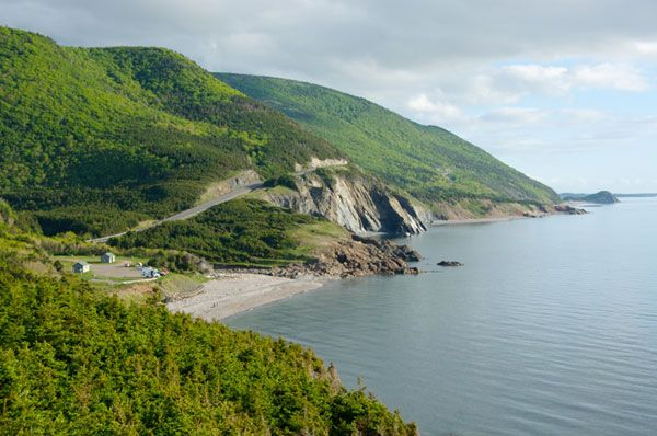 The Cabot Trail Scenic Route