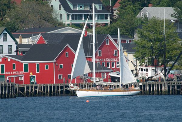 Lunenburg Harbour Nova Scotia