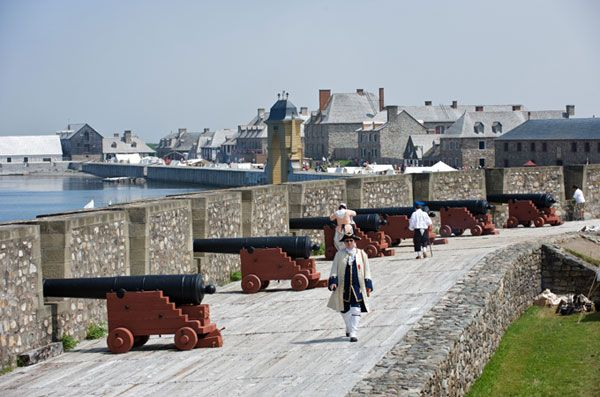 Historic Fortress Louisbourg Nova Scotia
