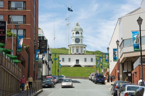 The Town Clock Halifax Nova Scotia