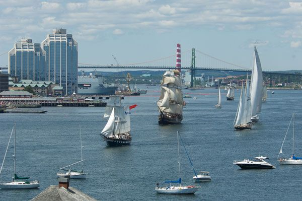 Tall Ships in Halifax Harbour