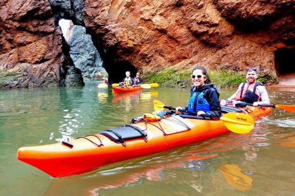 Tides & Cliffs Kayaking Getaway